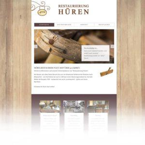 Internetauftritt Restaurierung Hueren - Multimedia